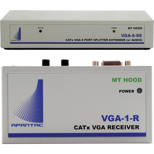Apantac VGA-8-SE VGA Extender/Splitter with Audio VGA-SET-4