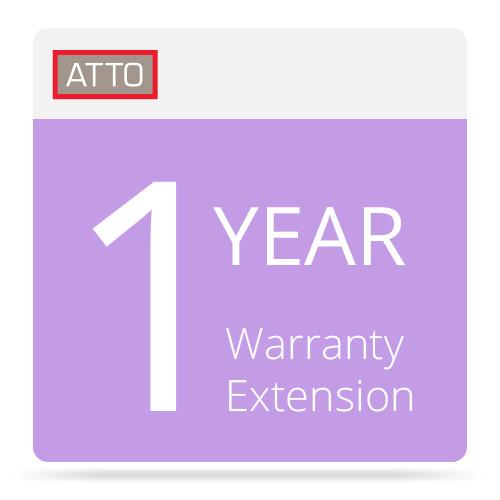 ATTO Technology 1 Year Warranty Extension for ATTO FCSW-WAR1-000