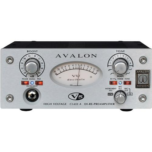 Avalon Design V5 Pure Class A Microphone Preamplifier V5-S