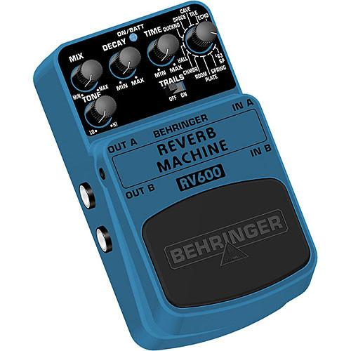 Behringer RV600 - Reverb Modeling Effects Pedal RV600