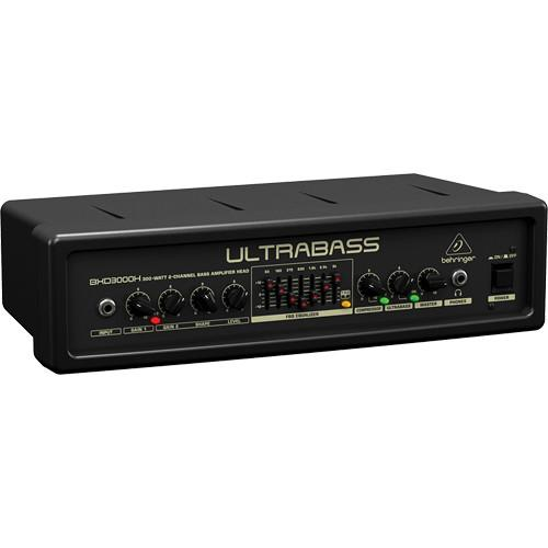 Behringer ULTRABASS BXD3000H Bass Amplifier Head BXD3000H
