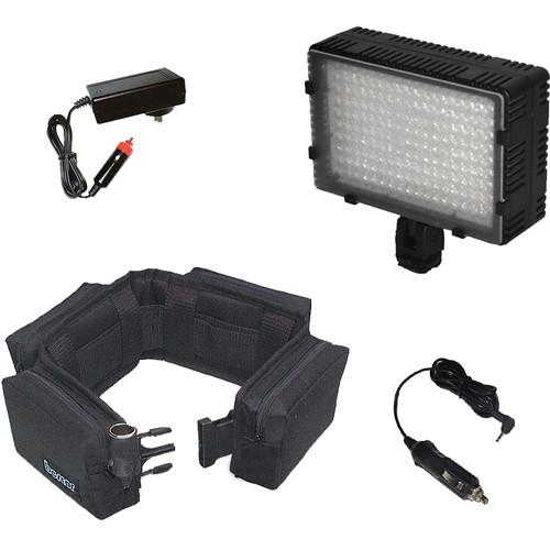 Bescor Extended Battery Kit for 180W Powered-On Camera LED-180BX