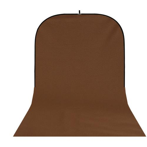 Botero #052 Super Collapsible Background (8x16', Brown) SC052816