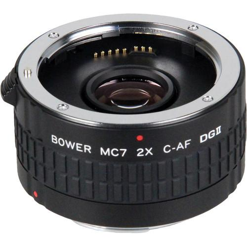 Bower 2x DGII Teleconverter with 7 Elements for Canon EF SX7DGC