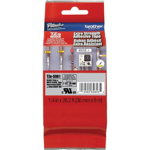 Brother HGES9615PK HGe Tape 5-Pack with Extra HGES9615PK