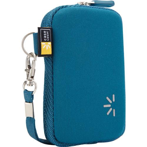 Case Logic UNZB-202 Point and Shoot Camera Case (Blue)