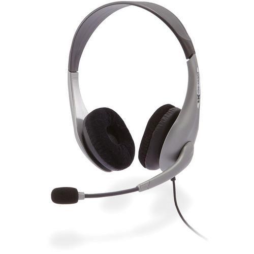 Cyber Acoustics AC-404 Stereo Headset and Boom Mic AC-404