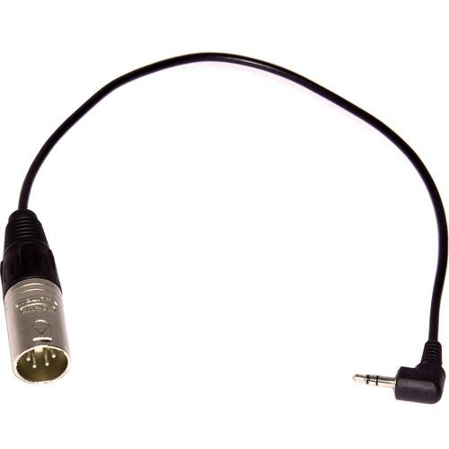 Datavideo 3.5mm Male to 4-Pin XLR Male Adapter Cable CB-8M