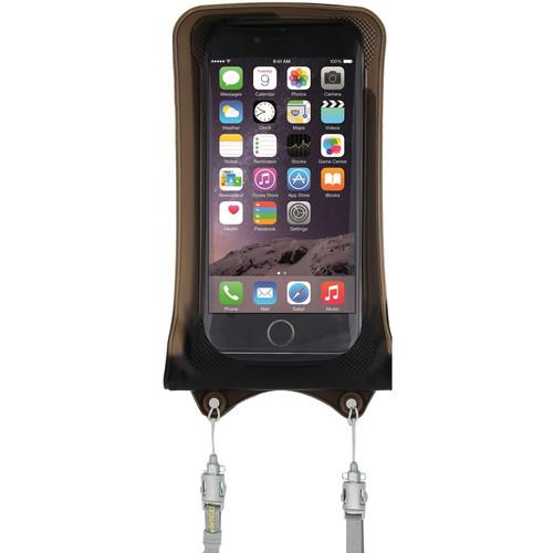 DiCAPac WPI10 Waterproof Case for iPhone WP-I10 DARKBROWN