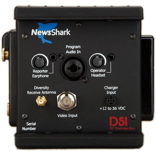 DSI RF Systems NewsShark HD Encoder with 3G DS-NSENHD-8182