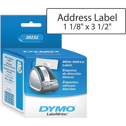 Dymo LabelWriter Address Labels (1 1/8 x 3 1/2