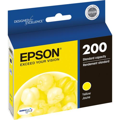 Epson  Epson 200 Ink Cartridge (Yellow) T200420