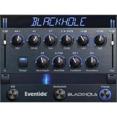 Eventide Blackhole - Native Reverb Plug-In A2 TO BLACKHOLE