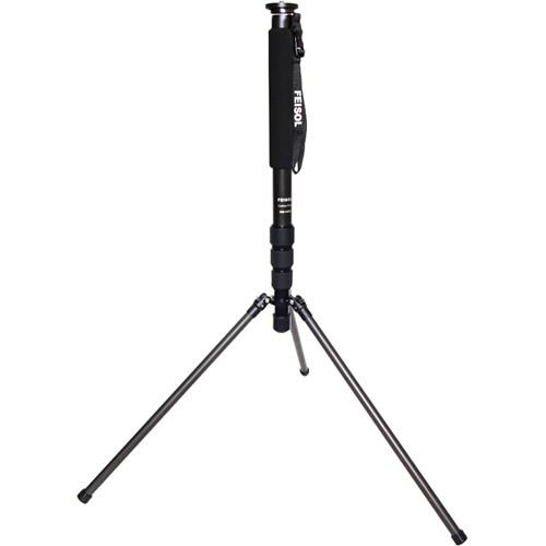 FEISOL CM-1473 Rapid Monopod with 3 Support Legs CM-1473