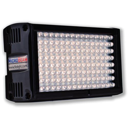 Flolight Microbeam 128 LED On Camera Video Light LED-128-PTF