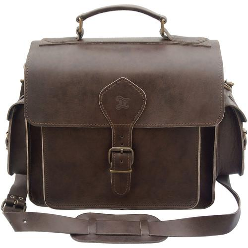 Grafea England Leather Camera Photo Bag GRFPHOBRN-55