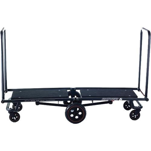 Gruv Gear MUVER 6 Multimode Longbed Cart (Black) MUVER6-B