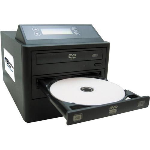 HamiltonBuhl 1:1 DVD/CD Duplicator with LCD Screen HB121