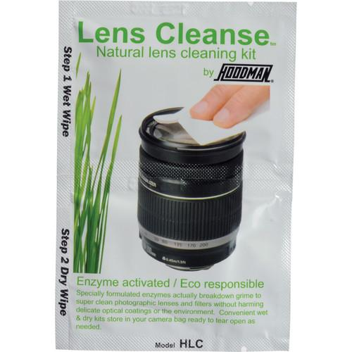 Hoodman Lens Cleanse Natural Lens Cleaning Kit (12 Pack) HLC12