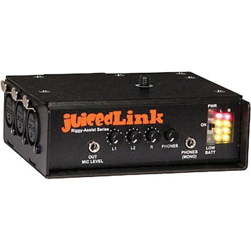 juicedLink RA333 Riggy Assist Low-Noise Preamp RA333