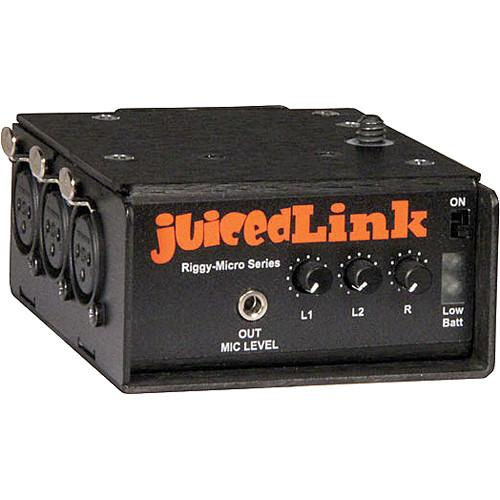 juicedLink RM333 Riggy Micro Low-Noise Preamp RM333