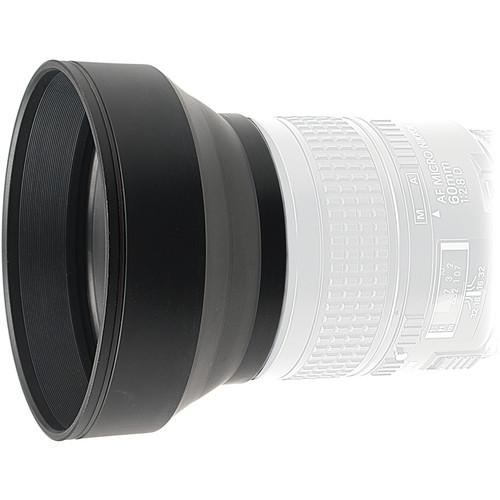 Kaiser  58mm 3-in-1 Rubber Lens Hood 206823