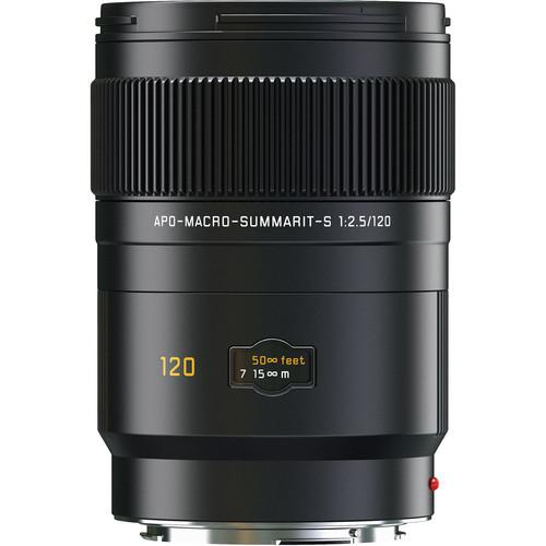 Leica APO-Macro-Summarit-S 120mm f/2.5 CS Lens 11052