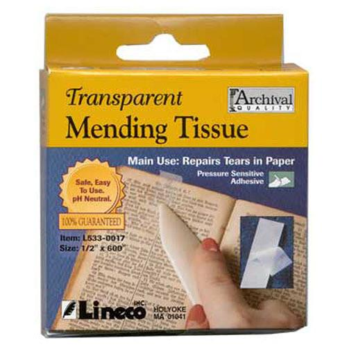 Lineco Transparent Mending Tissue (0.5
