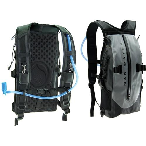 Madwater Action Sports Waterproof Hydration Pack (Gray) M50103