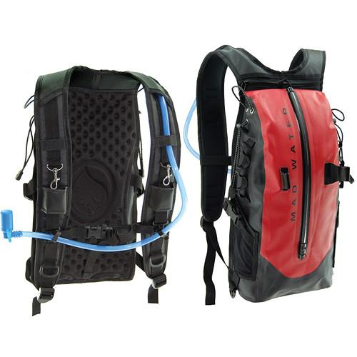 Madwater Action Sports Waterproof Hydration Pack (Red) M50102