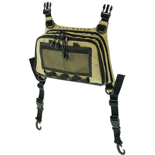 Madwater  Angler's Chest Pack (Khaki) M90104