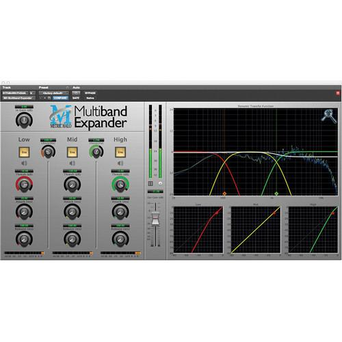 Metric Halo Multiband Expander - Dynamics Plug-In MBEXP