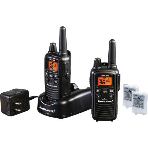 Midland LXT600VP3 36-Channel 2-Way Radios (Black) LXT600VP3