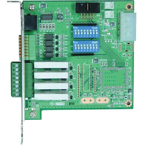 NUUO SCB-G3-IO 4-Channel Digital Input Relay Output SCB-G3-IO