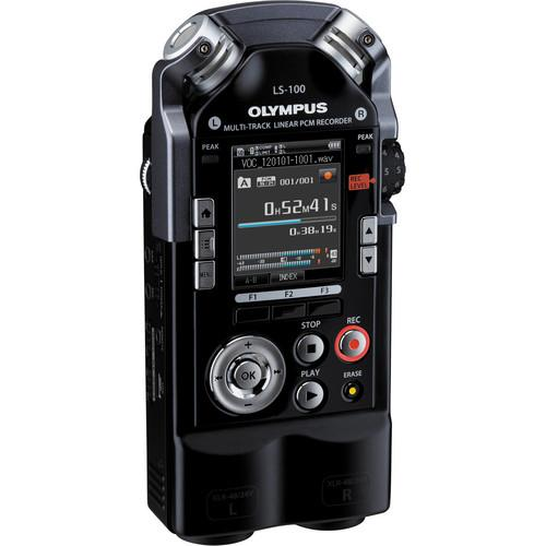 Olympus  LS-100 On-Camera DSLR Audio Kit