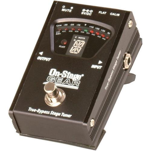 On-Stage  GTA7800 True-Bypass Pedal Tuner GTA7800