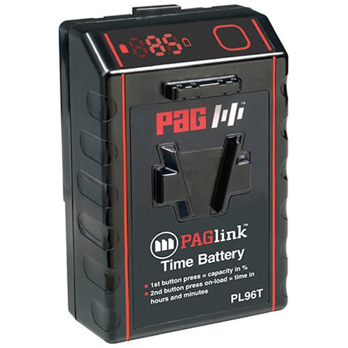 PAG PL96T Time Battery V-Mount (14.8V, 96Wh) 9304