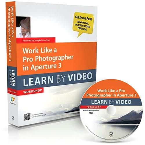 Peachpit Press Book & DVD: Work Like a Pro 0321786815