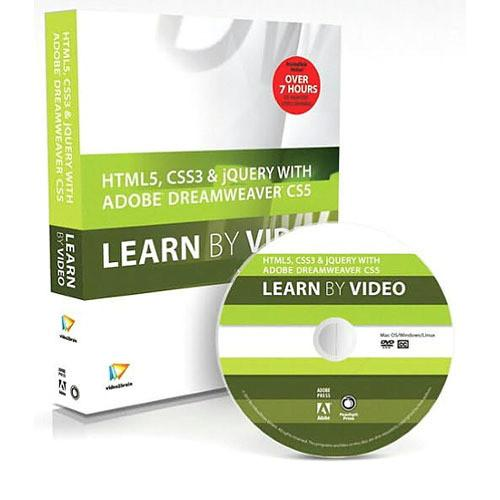 Pearson Education Book & DVD: HTML5, CSS3, and 0321788117