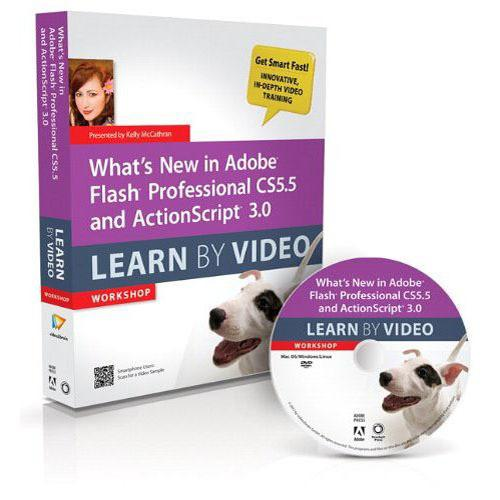 Pearson Education Book & DVD: What's New in Adobe 0321786823