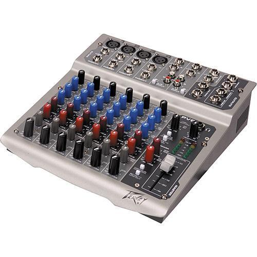 Peavey PV8 USB Live Sound Mixer with 8 Channels and USB 03513340