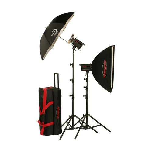 Photogenic 1,000W/s PowerLight Travel Kit (120V) 900035