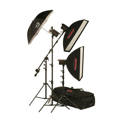 Photogenic 1,500W/s Solair 3 Light Studio Kit 900095
