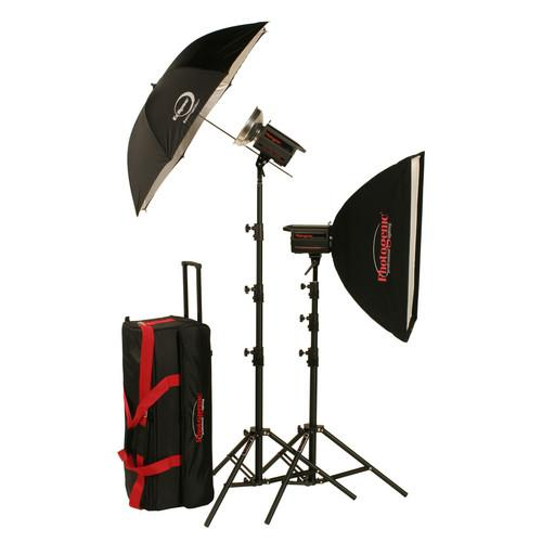 Photogenic 500W/s PowerLight Digital Travel Kit (120V) 900025