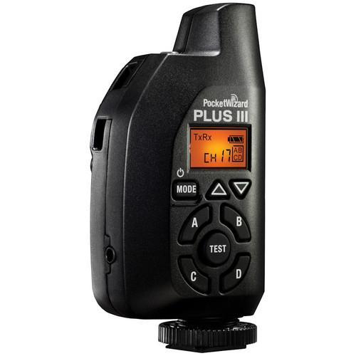PocketWizard Plus III Transceiver (Black) PW-PLUS3-FCC