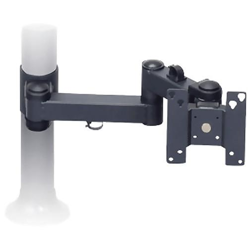 Premier Mounts Single Display Articulating Arm (Black) MM-A1