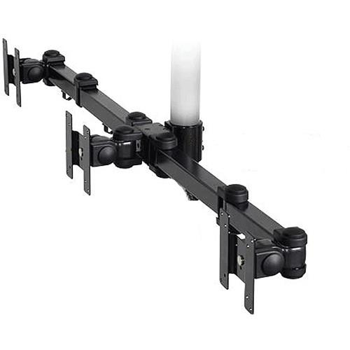 Premier Mounts Triple Display Articulating Arm (Black) MM-A3