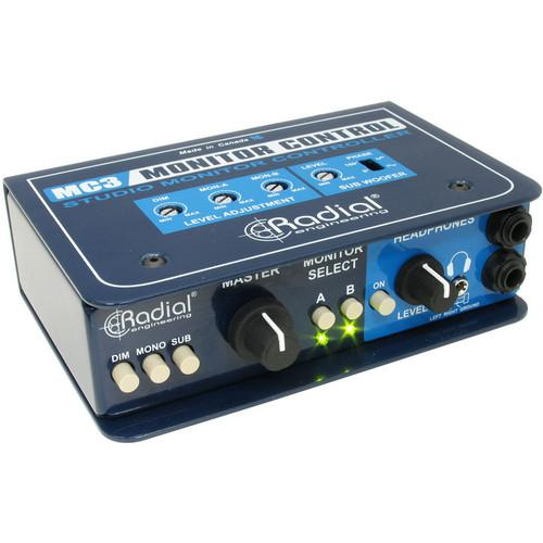 Radial Engineering MC3 - Studio Monitor Controller R800 1410