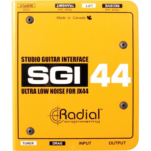 Radial Engineering SGI-44 Studio Guitar Interface R800 6700