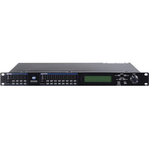RCF DX 4008 4-Input & 8-Output Digital Audio DX-4008